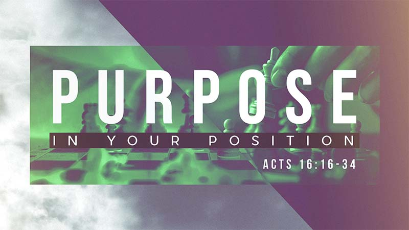 Purpose in Your Position